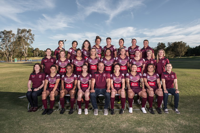 The 2018 Queensland team. Photo: QRL Media