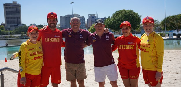 Two iconic Queensland brands unite to keep swimmers safe