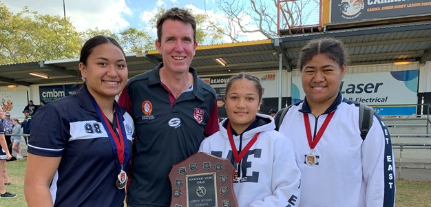 QSSRL girls rugby league state championships kick off in Cairns