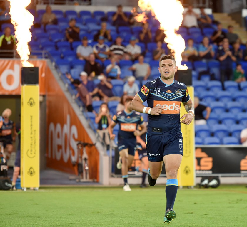 Ash Taylor regained his spark for the Titans in 2020. Photo: NRL Images