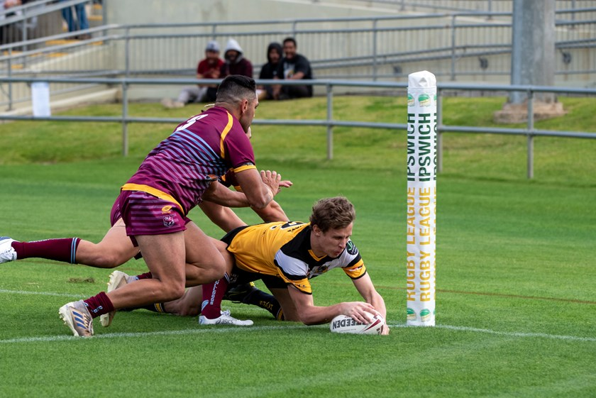 Gatton Hawks in action. Photos: Bruce Clayton Photography
