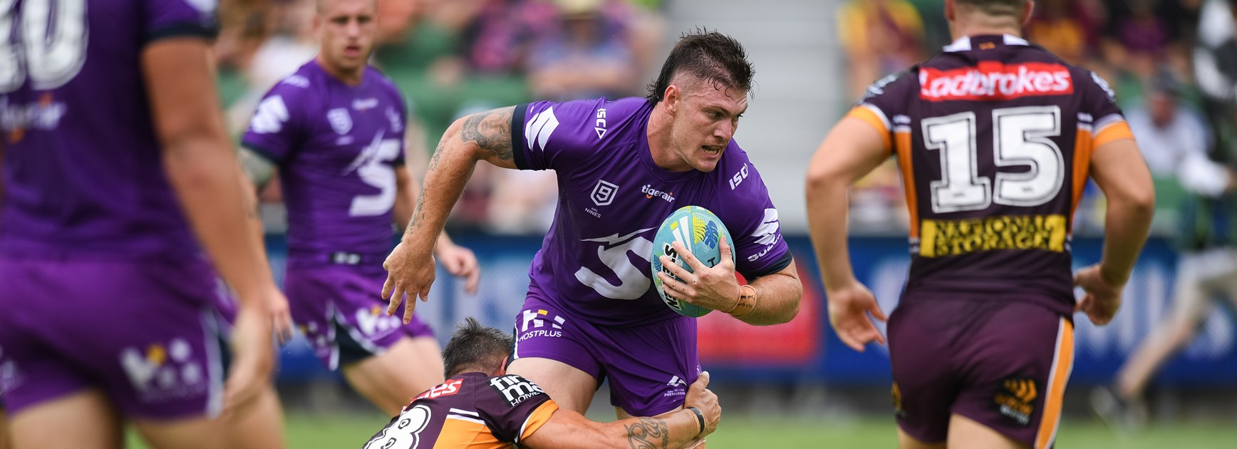 Melbourne Storm squad for Warriors trial