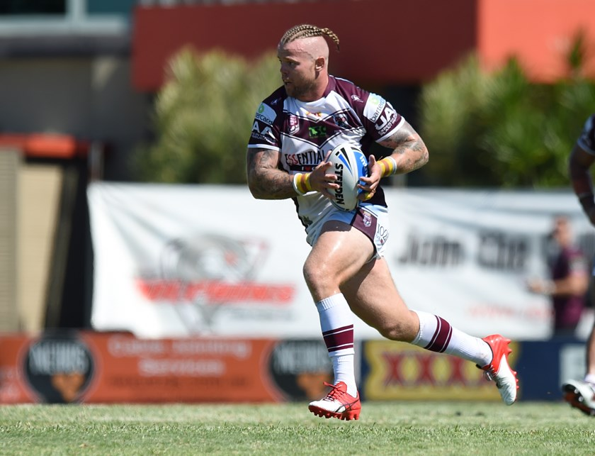 Luke Page in action for the Bears. Photo: QRL Media