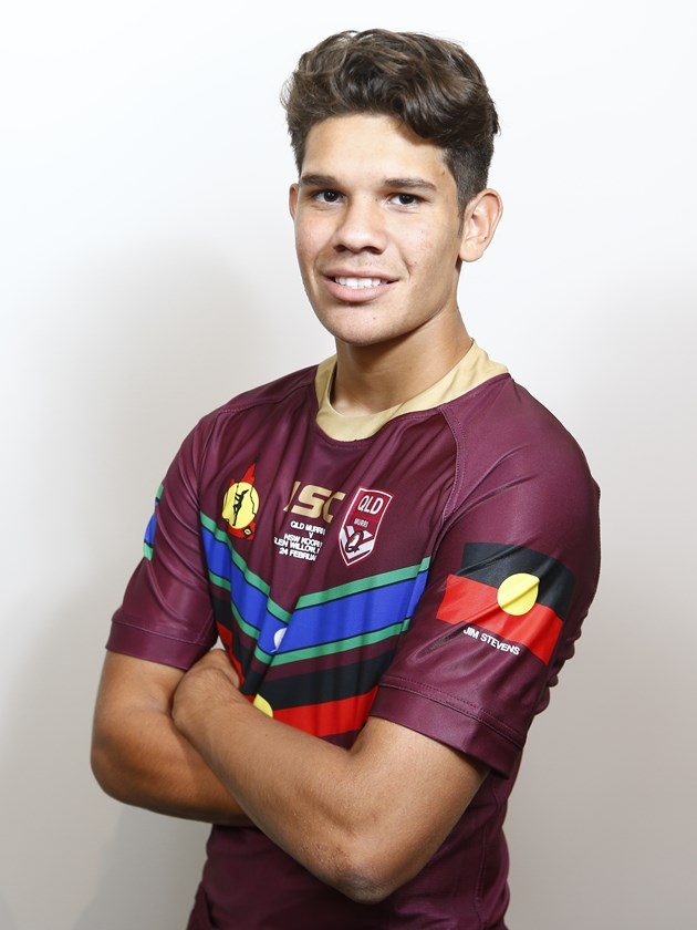 Dale-Doyle starred for the Queensland Murri Under 16s in 2018.