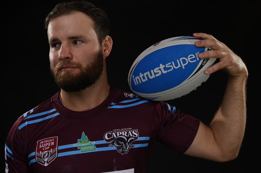 Jack Madden at the recent QRL Media photo shoot.