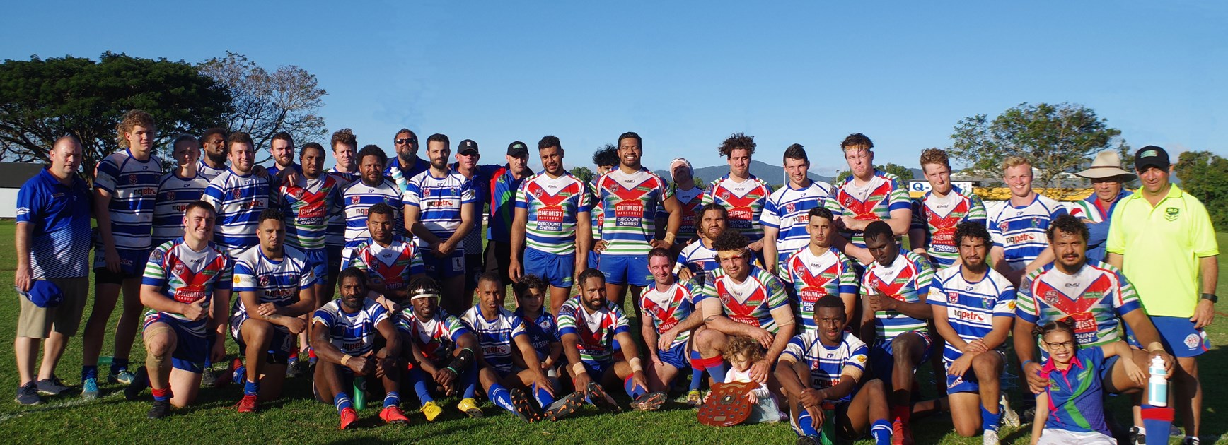 Innisfail reclaim David Morris Memorial Shield