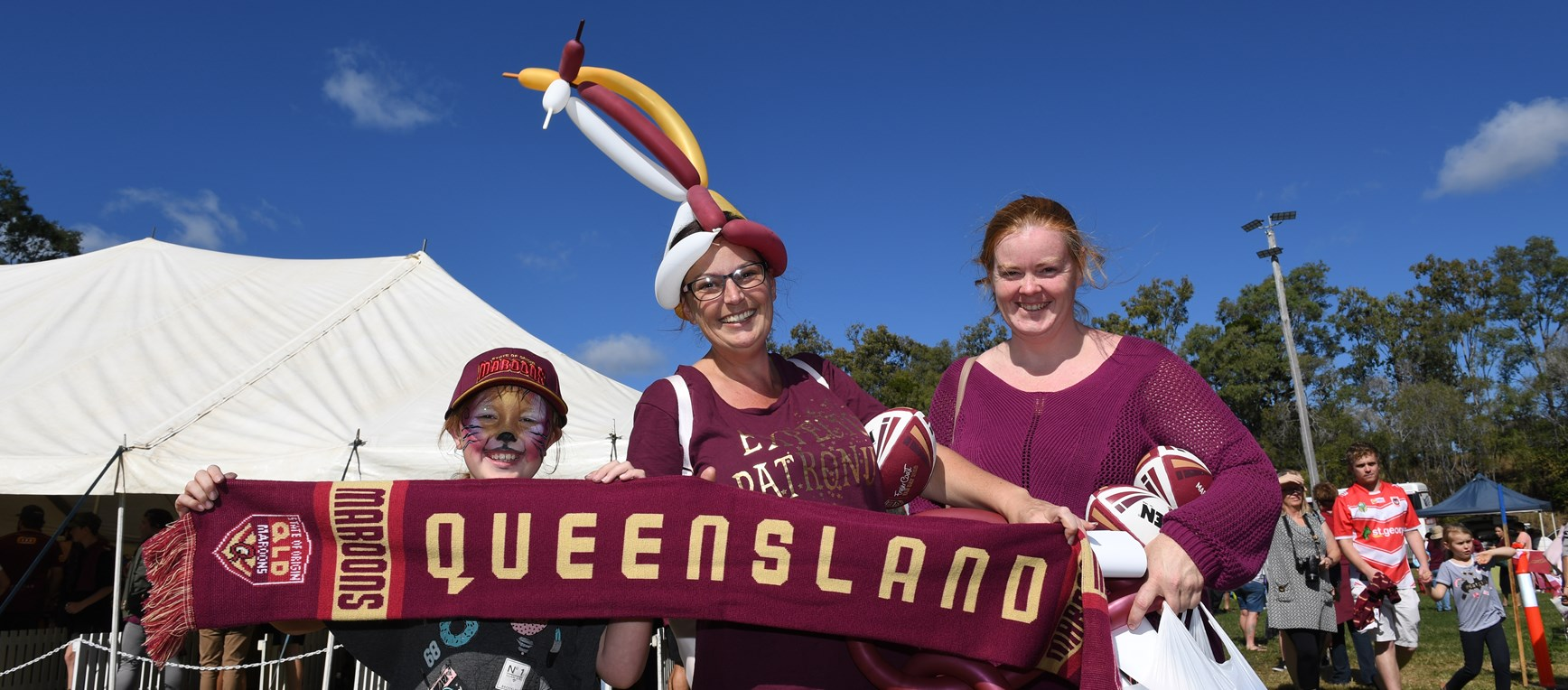 Gallery: Maroons at Fraser Coast Fan Day