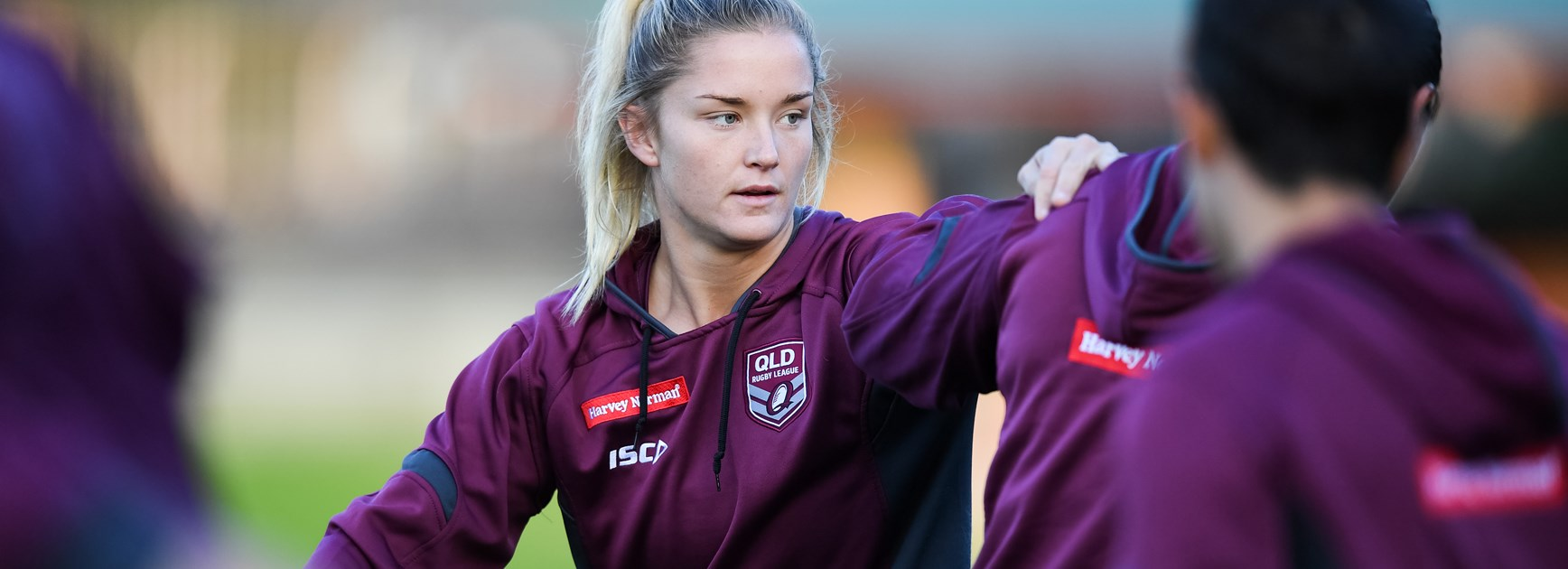 Ward out to create her own Broncos path with backing of Renouf