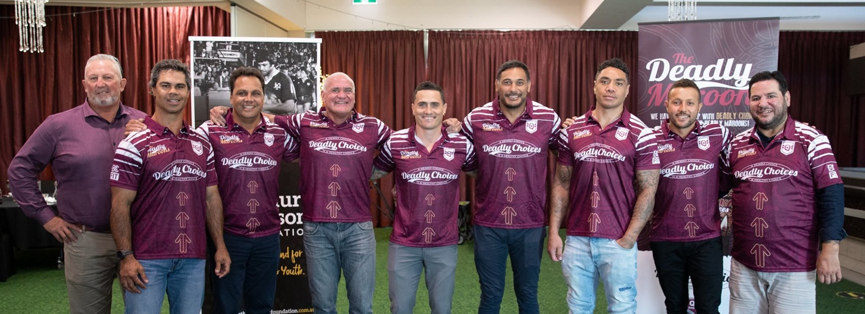 Deadly Maroons 40-year Origin team full of talent