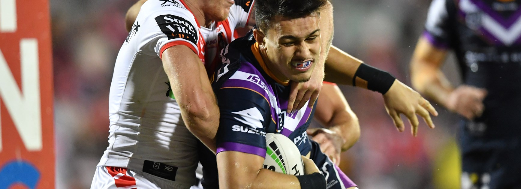 Queensland's man mountain Tino inspired after storming NRL debut
