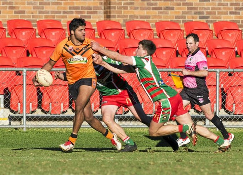 Dwayne Duncan will still provide the 'X Factor' for Souths this season. PHOTO: Nev Madsen (The Chronicle)