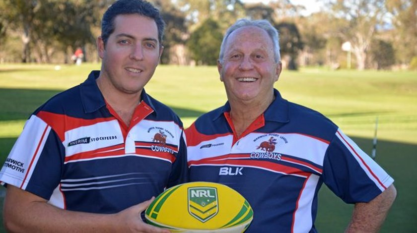 New Warwick coach Phil Economidis brings years of coaching experience to the club. PHOTO: Gerard Walsh (Warwick Daily News)