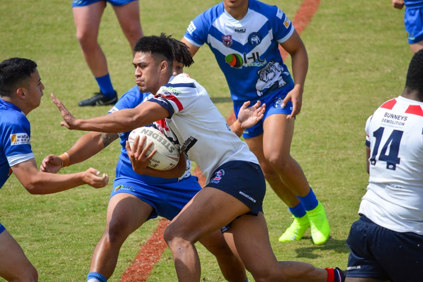 Brighton Roosters v Bulimba Bulldogs. Photo: Mike Simpson
