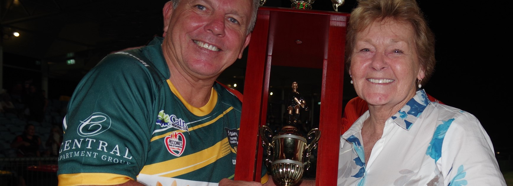 Rugby league greats thrill fans in Cairns charity match