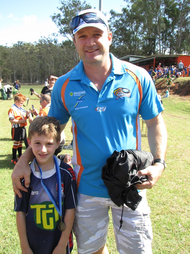 QRL statewide competitions manager Dave Maiden enjoyed attending junior footy in the far north when he was the head coach of the Northern Pride.