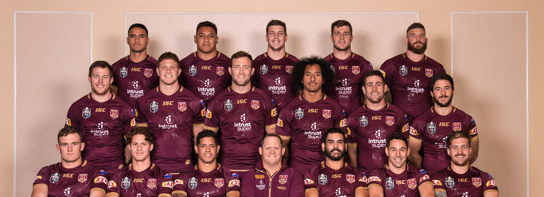 Official Game II Maroons team photo