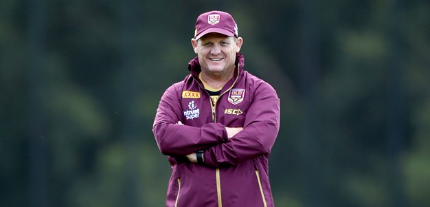 Maroons name 18-man squad for Origin II