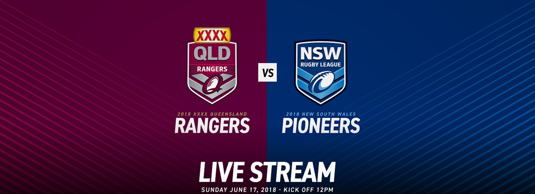 Live stream QLD Rangers V NSW Pioneers