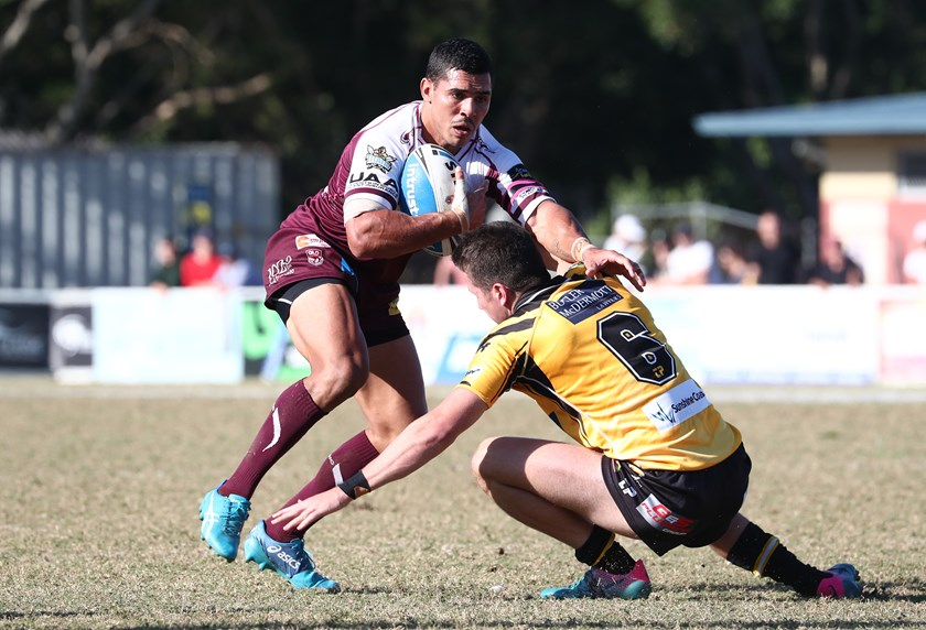 Bears star Jamal Fogarty has recently signed a two-year deal with the Gold Coast Titans. Photo: QRL