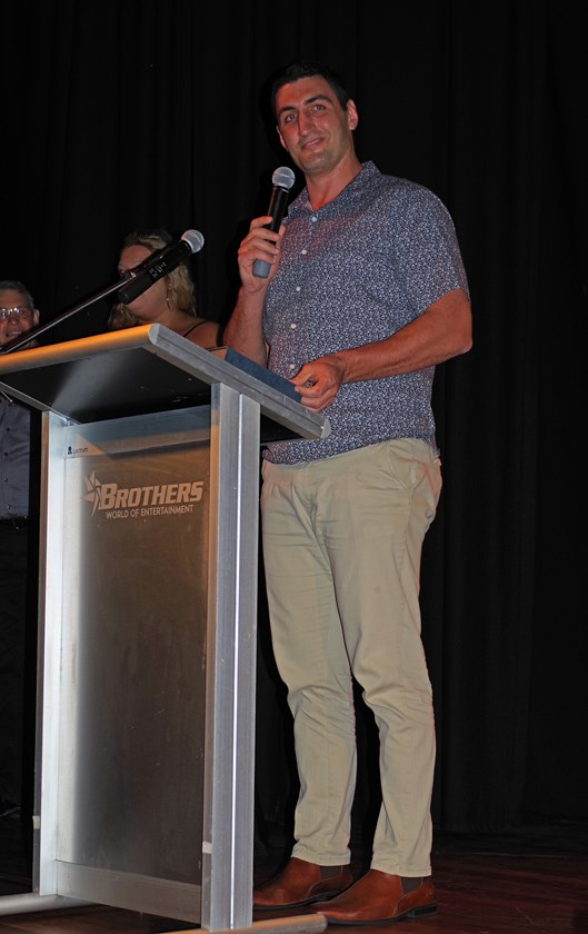 Luke Saunders from Southern Suburbs was named the Coach of the Year. Photo: Maria Girgenti