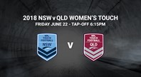 Live stream: QLD v NSW Women's Touch