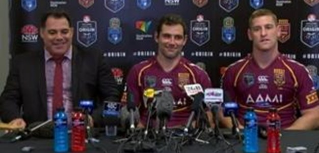 Origin Game 3 QLD Press Conference