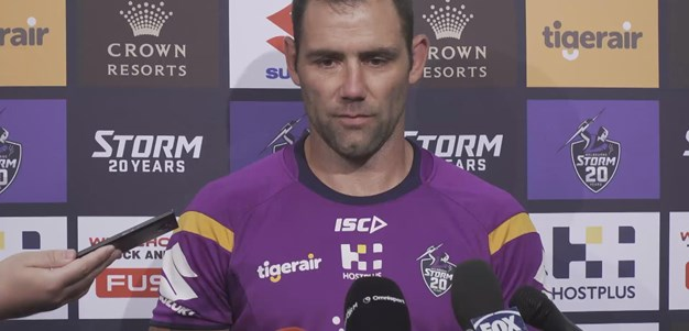 "Smith on Slater ""He didn't know if he'd play again"""