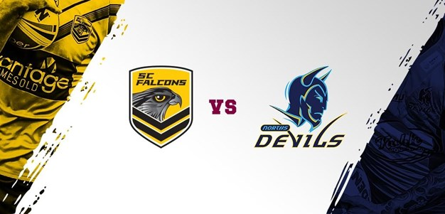 Intrust Super Cup Round 23 HLs: Falcons Vs Devils
