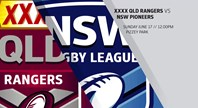 XXXX QLD Rangers vs NSWRL Pioneers Highlights