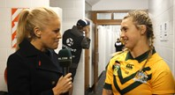 Robinson 'over the moon' with debut Jillaroos try