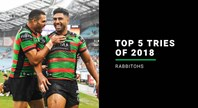 NRL.com's top five Rabbitohs tries of 2018