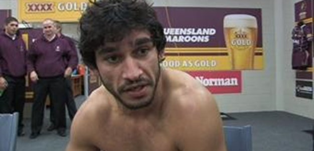 Johnathan Thurston post game interview