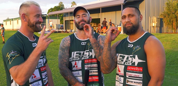 Jets tributes for Walker brothers' milestone