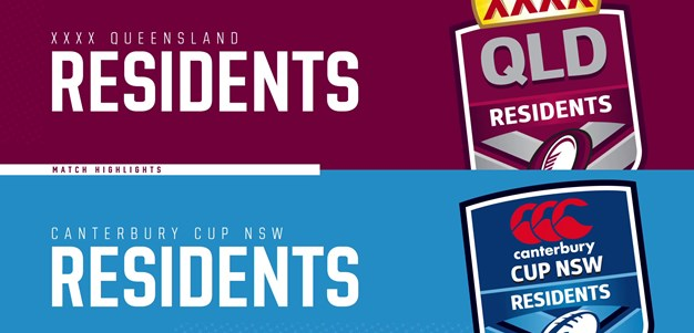 XXXX Queensland Residents v Canterbury Cup NSW Residents: Highlights
