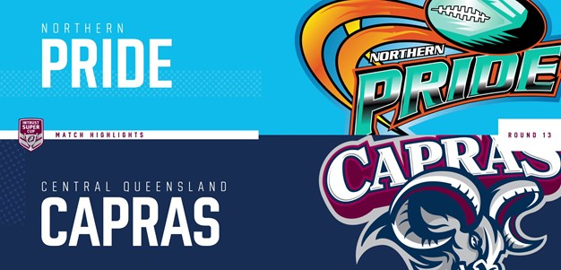 Intrust Super Cup Round 13 highlights: Pride v Capras