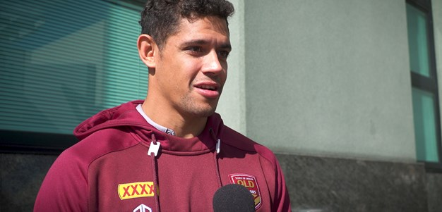 Maroons visit Brisbane Watch House