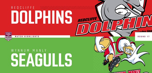 Intrust Super Cup Round 17 highlights: Dolphins v Seagulls
