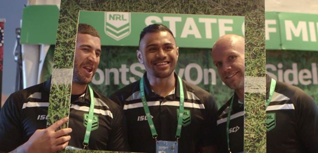 NRL State of Mind: Players pledge their support at Origin III