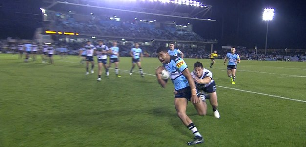 Mulitalo gets over for his first NRL try