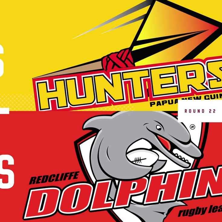 Intrust Super Cup Round 22 highlights: Hunters v Dolphins