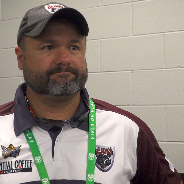 Post match: Burleigh Bears coach Jim Lenihan