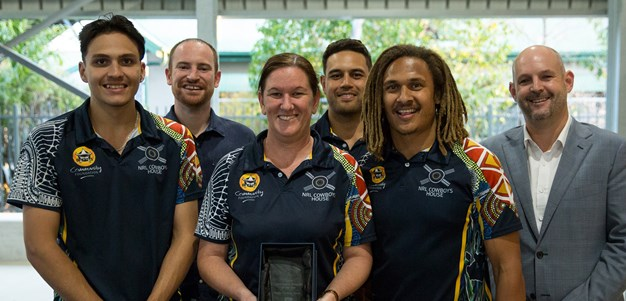 Cowboys House recognised for community work