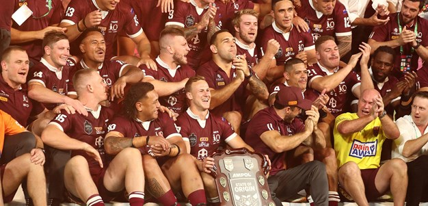 DCE delivers cheeky sledge and lifts the shield