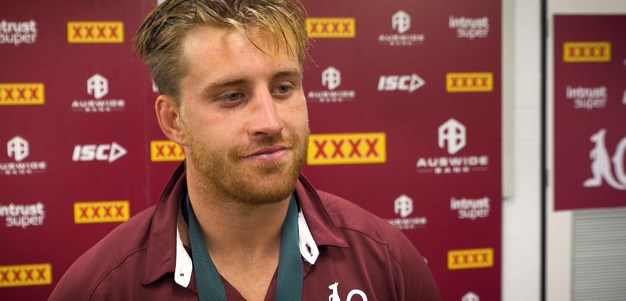 In the sheds: Cameron Munster