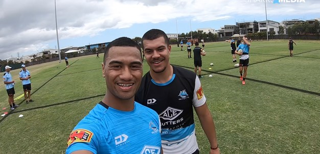 Sharks return for day one of pre-season