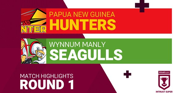 Round 1 highlights: PNG v Wynnum Manly