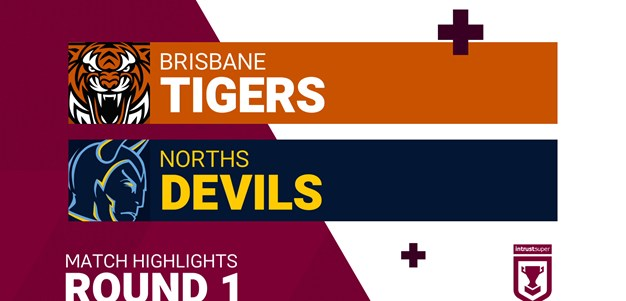 Round 1 highlights: Tigers v Devils