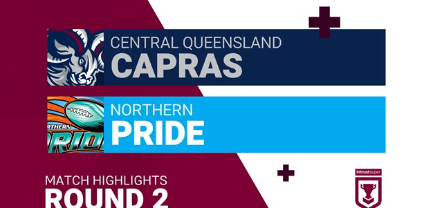 Round 2 highlights: Capras v Pride