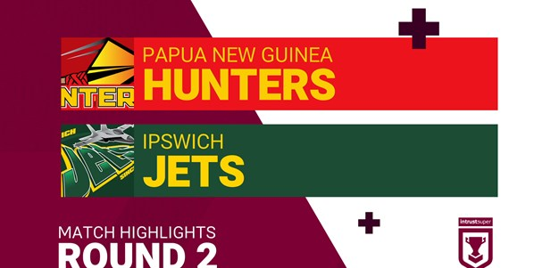 Round 2 highlights: Hunters v Jets