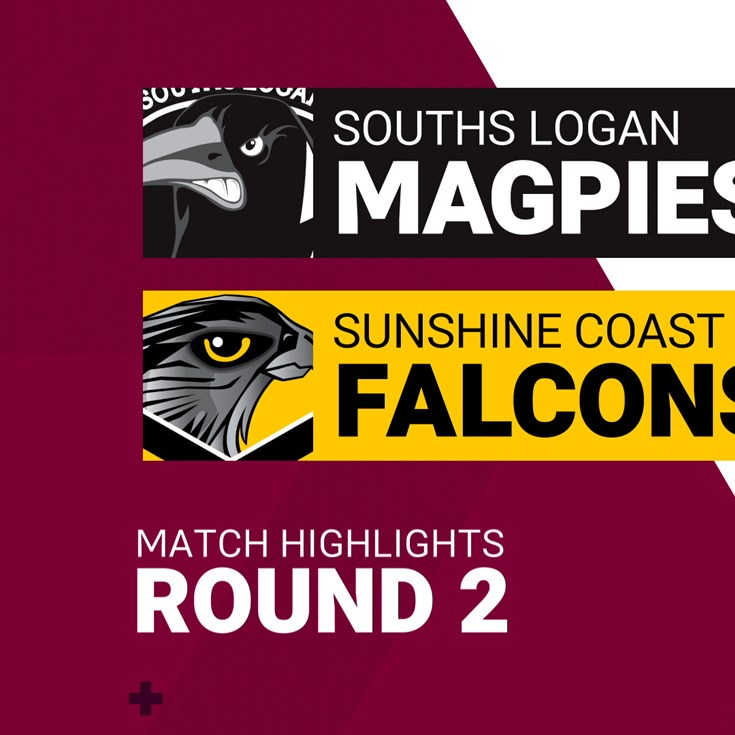 Round 2 highlights: Magpies v Falcons